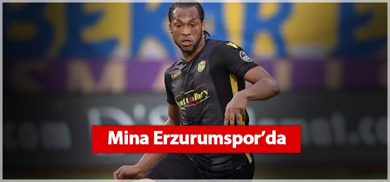 Arturo Mina Erzurumspor'a imza attı