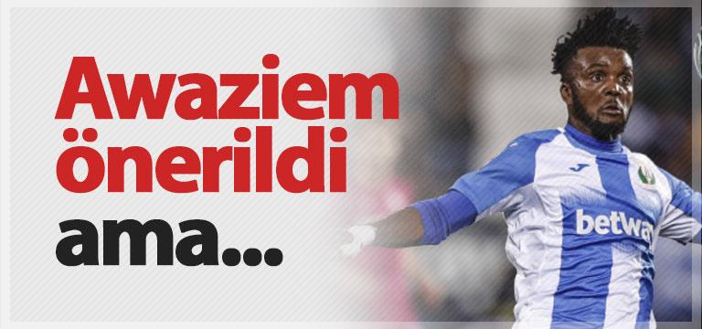 Awaziem önerisine Trabzonspor'dan ret