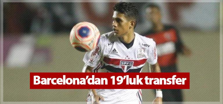 Barcelona'dan 19'luk transfer