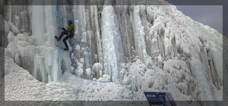 Dağcılık Federasyonundan buz tırmanış eğitimi