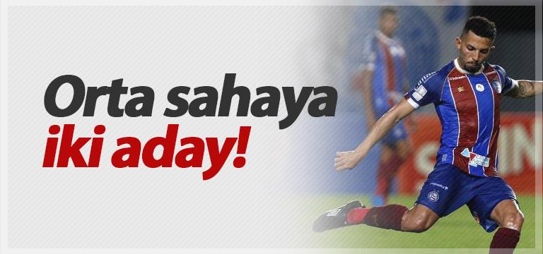 Trabzonspor'da orta saha için iki isim