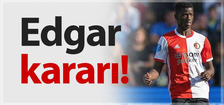 Trabzonspor'da Edgar Le kararı!