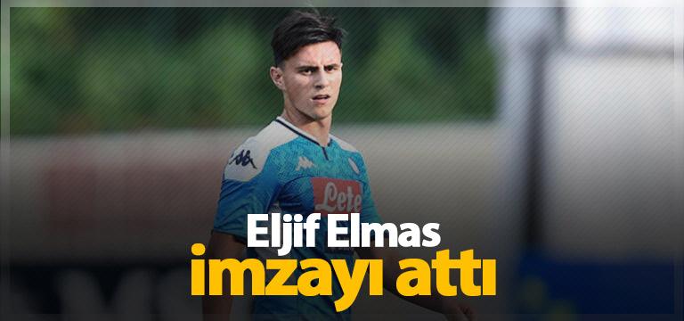 Eljif Elmas yeni sözleşme imzaladı