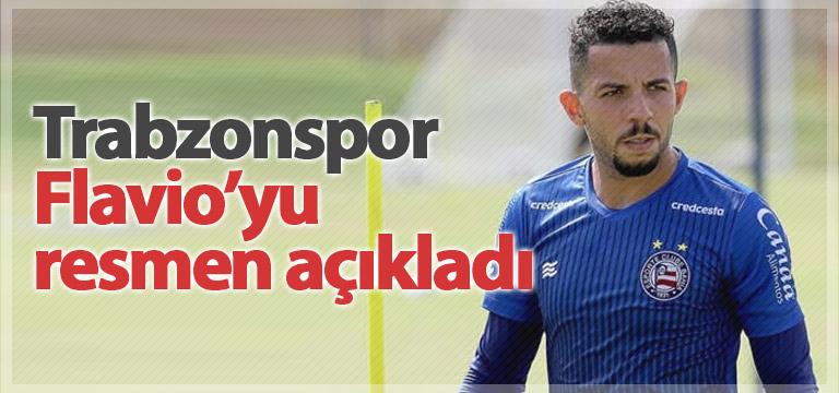 Trabzonspor Flavio'yu açıkladı!