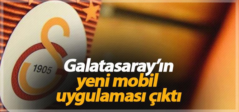 Galatasaray'ın yeni mobil uygulaması çıktı