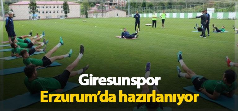 Giresunspor sezona Erzurum'da hazırlanıyor