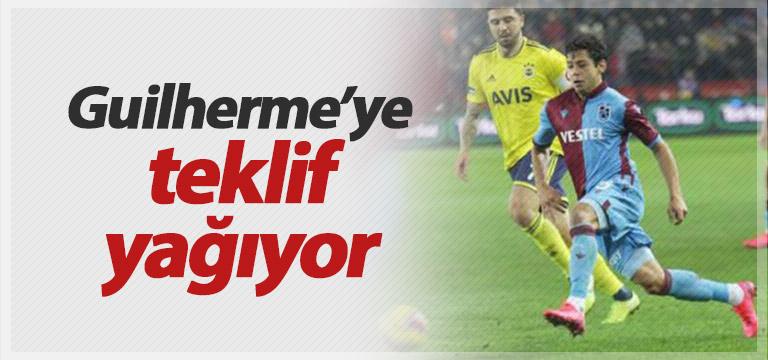 Trabzonspor'da Guilherme'ye teklif yağmuru