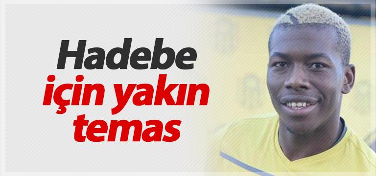 Trabzonspor'dan Hadebe yoklaması
