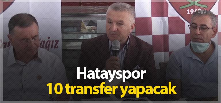 Hatayspor'da hedef 10 transfer