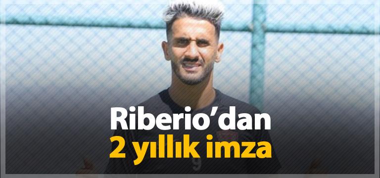 Riberio 2 yıllığına Hatayspor'da