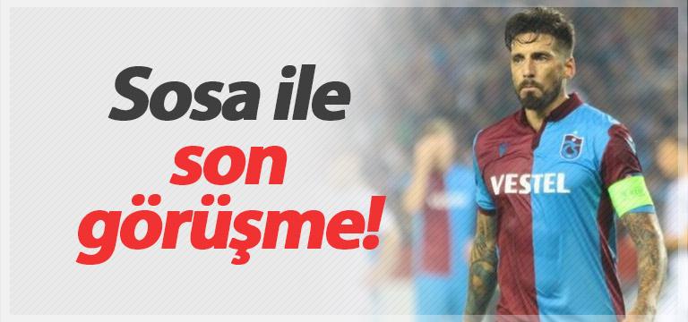 Trabzonspor Jose Sosa ile son kez görüşecek