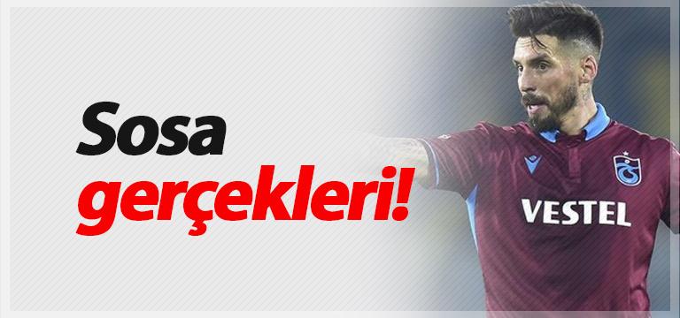 Trabzonspor'da Jose Sosa gerçekleri