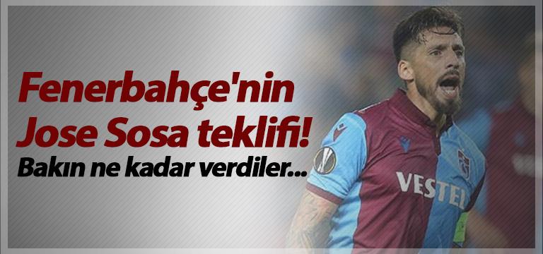 Fenerbahçe'nin Jose Sosa teklifi! Bakın ne kadar verdiler…