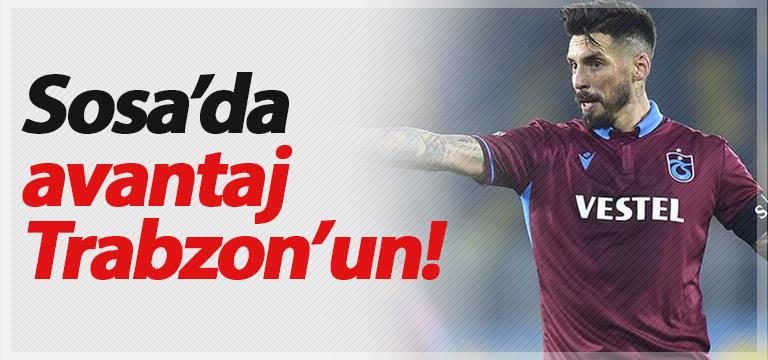 Trabzonspor Sosa konusunda avantajlı