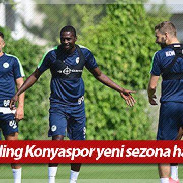 İttifak Holding Konyaspor yeni sezona hazırlanıyor
