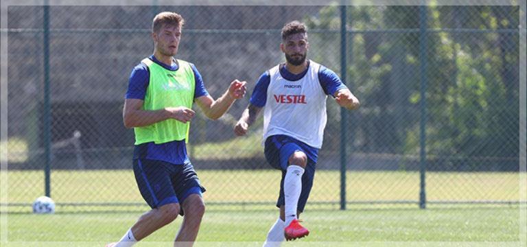 Trabzonspor dayanıklılık çalışması yaptı