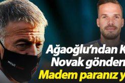 Ahmet Ağaoğlu'ndan Ali Koç'a Novak tepkisi