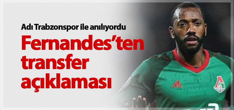 Manuel Fernandes'ten transfer açıklaması