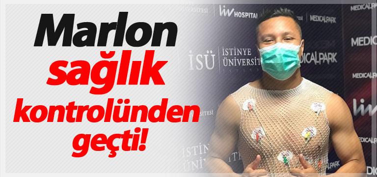 Marlon sağlık kontrolünden geçti!