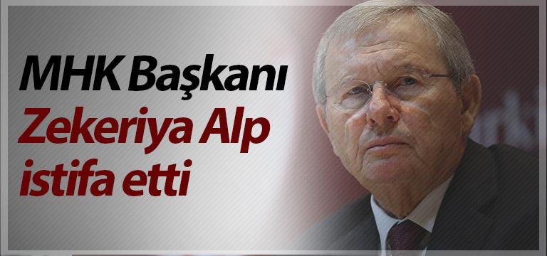TFF'den flaş açıklama! MHK Başkanı Zekeriya Alp istifa etti