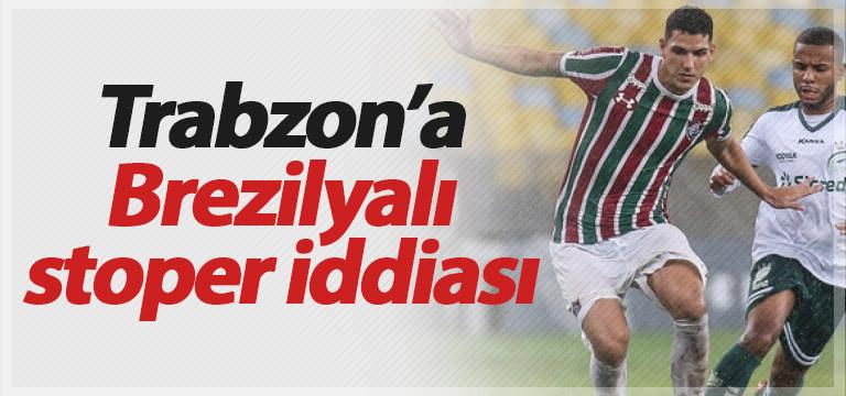Trabzonspor'a Brezilyalı stoper Nino