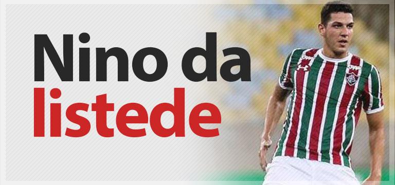 Nino da Trabzonspor'un listesinde