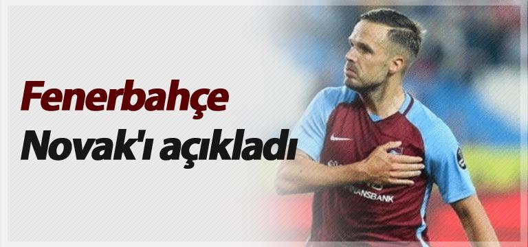 Fenerbahçe Novak'ı açıkladı