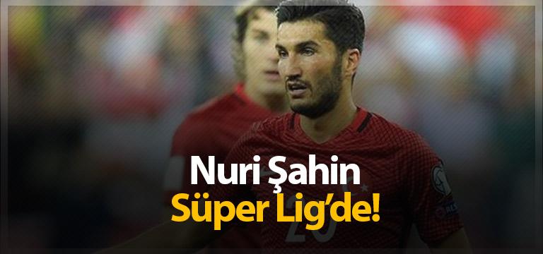 Milli futbolcu Nuri Şahin Antalyaspor'da