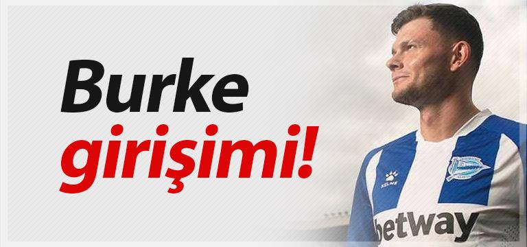 Trabzonspor'da Oliver Burke harekatı