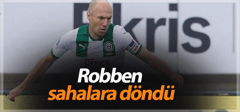 Robben sahalara döndü