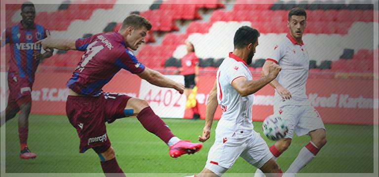 Trabzonspor İlk hazırlık maçında mağlup