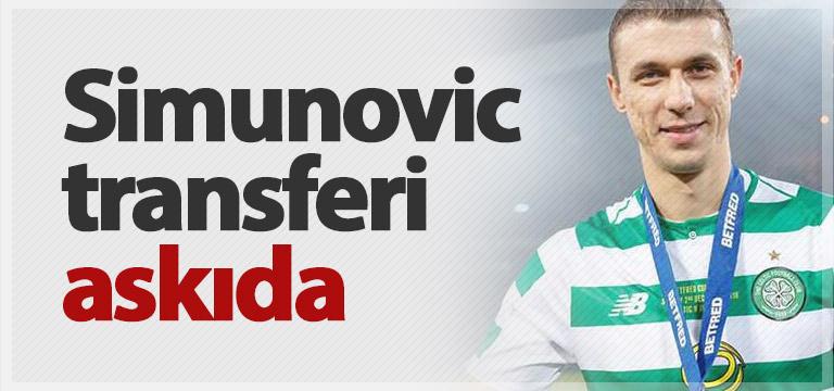 Jozo Simunovic transferi askıya alındı
