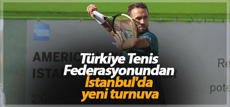 Türkiye Tenis Federasyonundan yeni turnuva