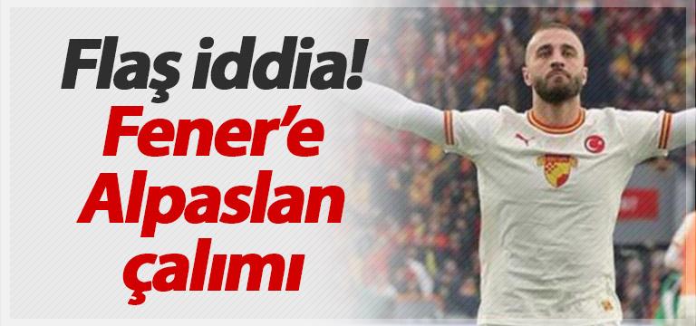 Trabzonspor'dan Fenerbahçe'ye Alpaslan çalımı!