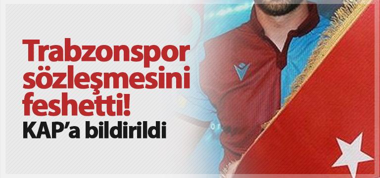 Trabzonspor Nemanja Andusic'i gönderdi