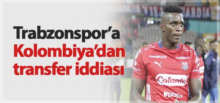 Trabzonspor'a Kolombiya'dan stoper iddiası