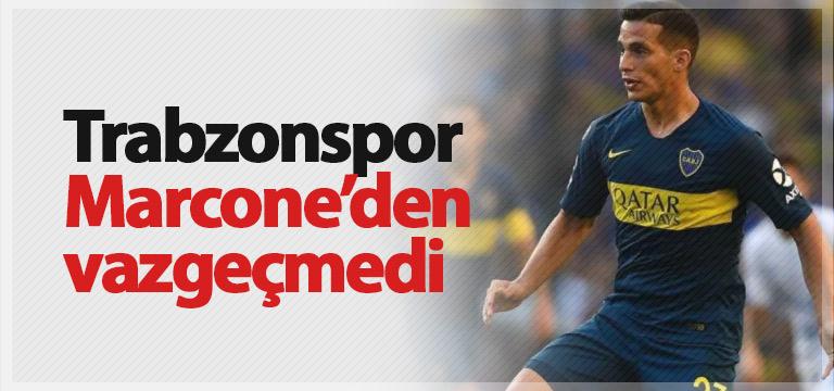 Trabzonspor Marcone'den vazgeçmedi