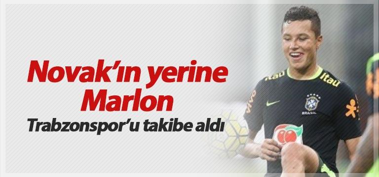 Trabzonspor'da Novak'ın yerine Sambacı Marlon