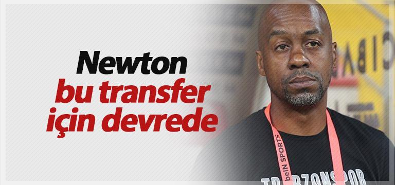 Trabzonspor'da Elneny için Eddie Newton devrede