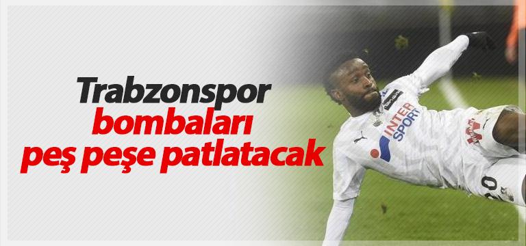Trabzonspor transferde durmayacak!