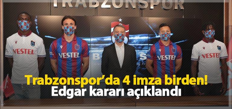 Trabzonspor'da imza şov! 4 isim birden