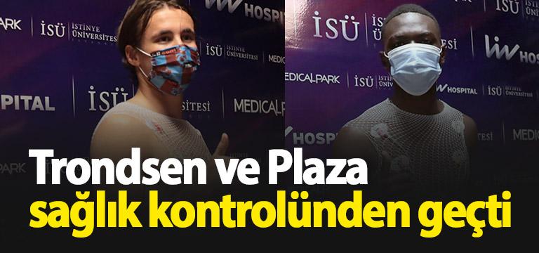 Trabzonspor'un yeni transferleri kontrolden geçti
