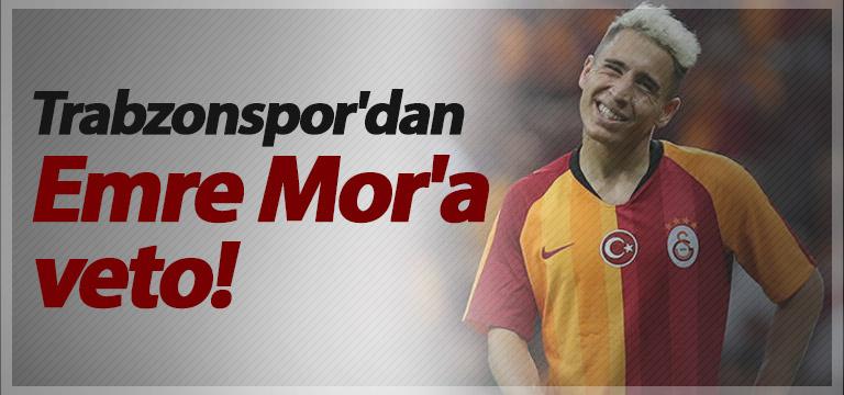 Trabzonspor'dan Emre Mor'a veto