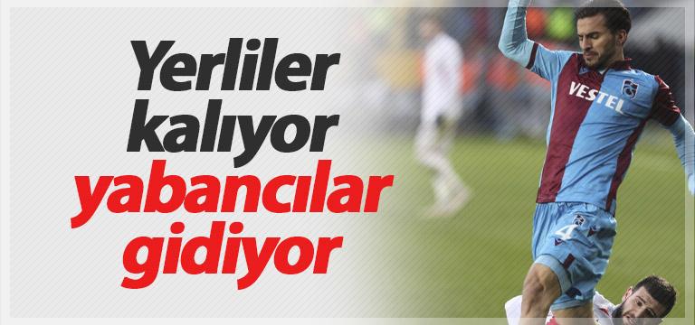 Trabzonspor'da yabancı stoperlere yol gözüktü