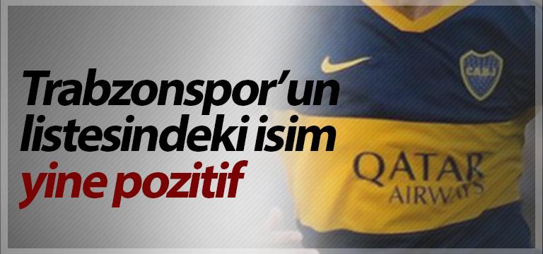 Trabzonspor'un listesindeki isim yine pozitif
