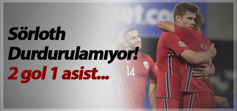Sörloth Durdurulamıyor! 2 gol 1 asist…