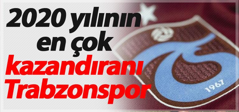 2020 yılının en çok kazandıranı Trabzonspor