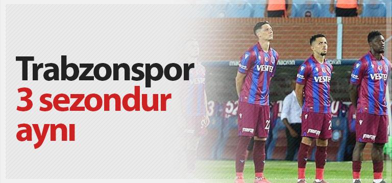Trabzonspor alışkanlık yaptı! 3 senedir…