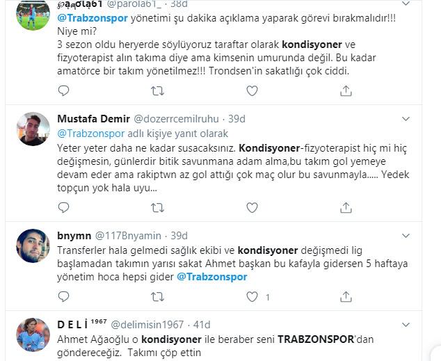 Trabzonspor'da sakatlık krizi! İki yeni transfer devam edemedi