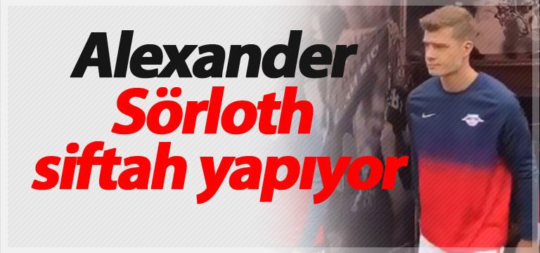 Alexander Sörloth siftah yapıyor